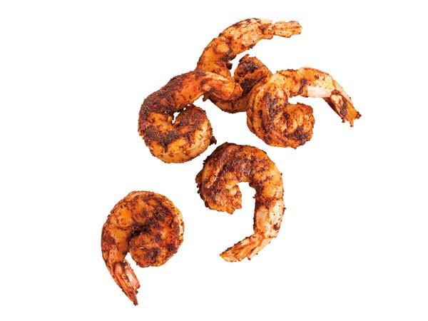 Cajun blackened shrimp