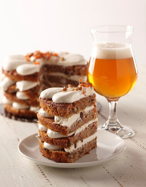 west coast ipa and carrot cake