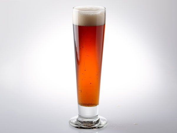 Bock in pilsner glass