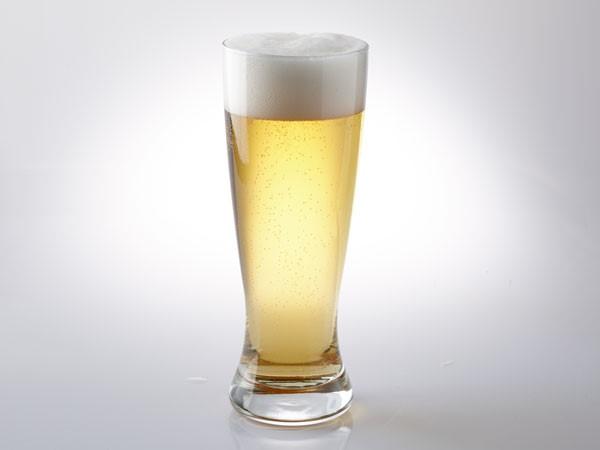 Imperial pilsner in pilsner glass
