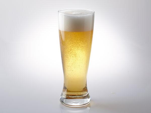 Pilsner beer in pilsner glass
