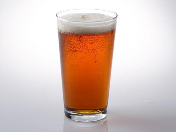 Vienna lager beer in pilsner glass