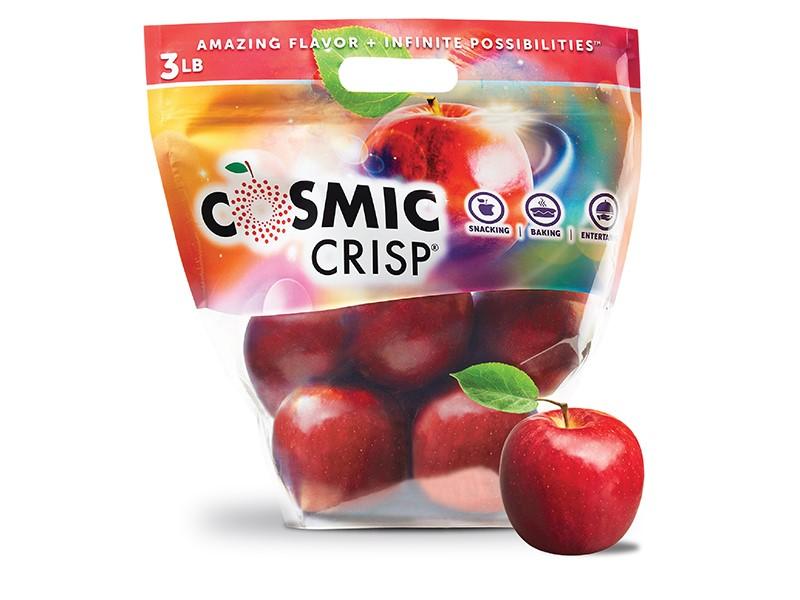 Cosmic Crisp apple bag