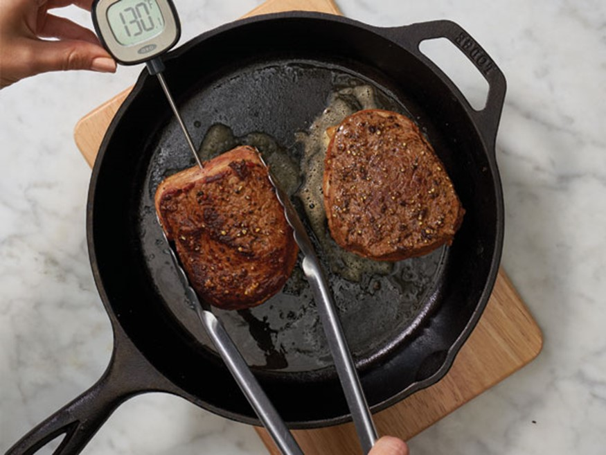 How-To Cook Bacon-Wrapped Sirloin Steaks   Hy-Vee