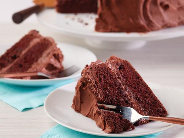 Super Moist Chocolate Mayo Cake Hy Vee