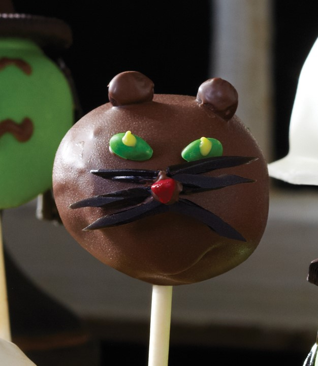 Chocolate Cat Halloween Pop