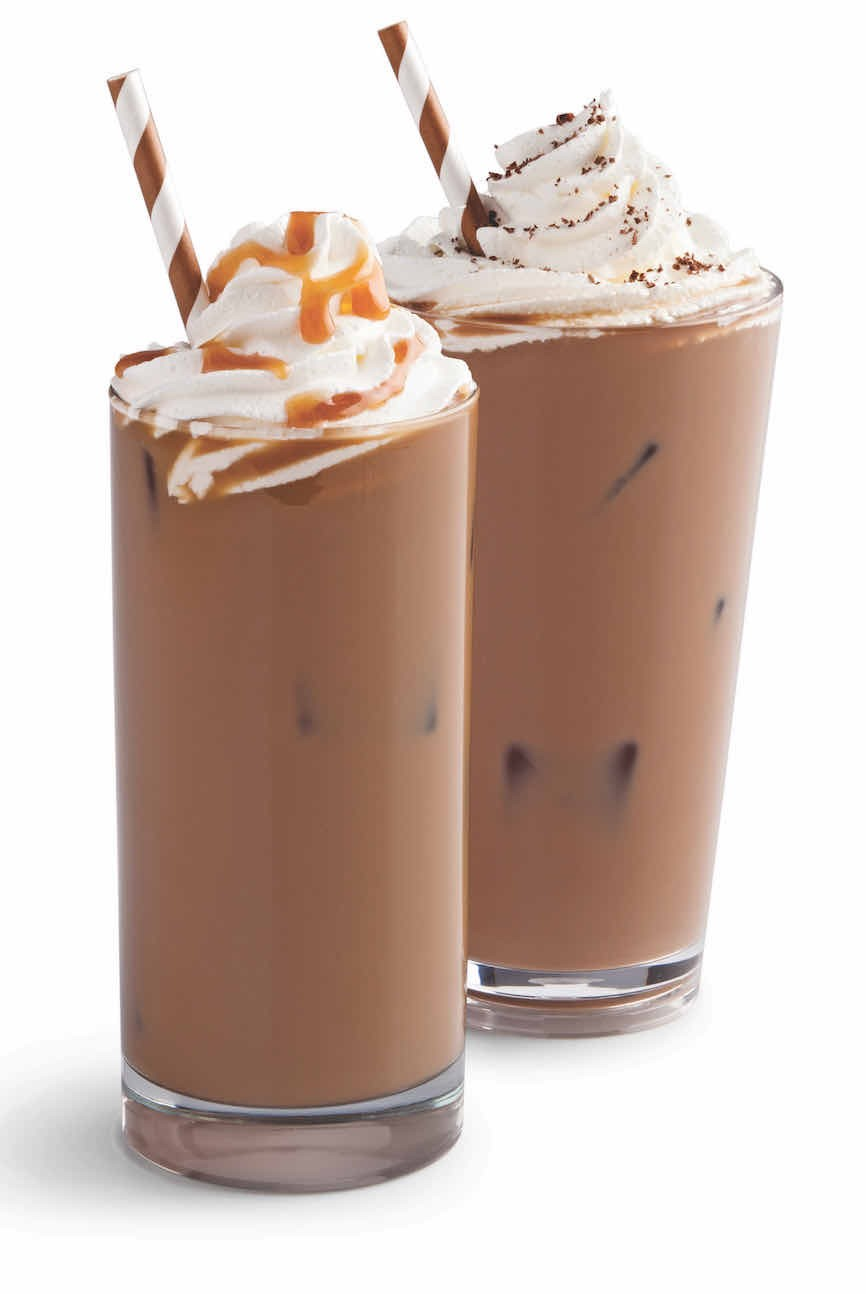 Iced Coffee with Whipped Cream