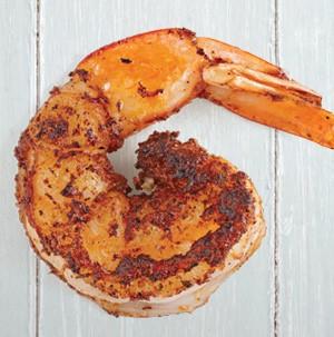Seasoned BBQ shrimp
