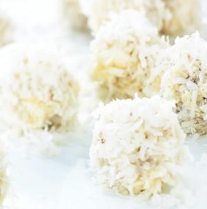 Platter of Coconut Snowballs
