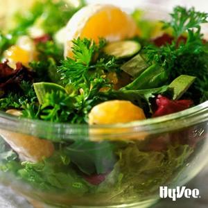 Bowl of Clementine, Jicama and Pomegranate Salad