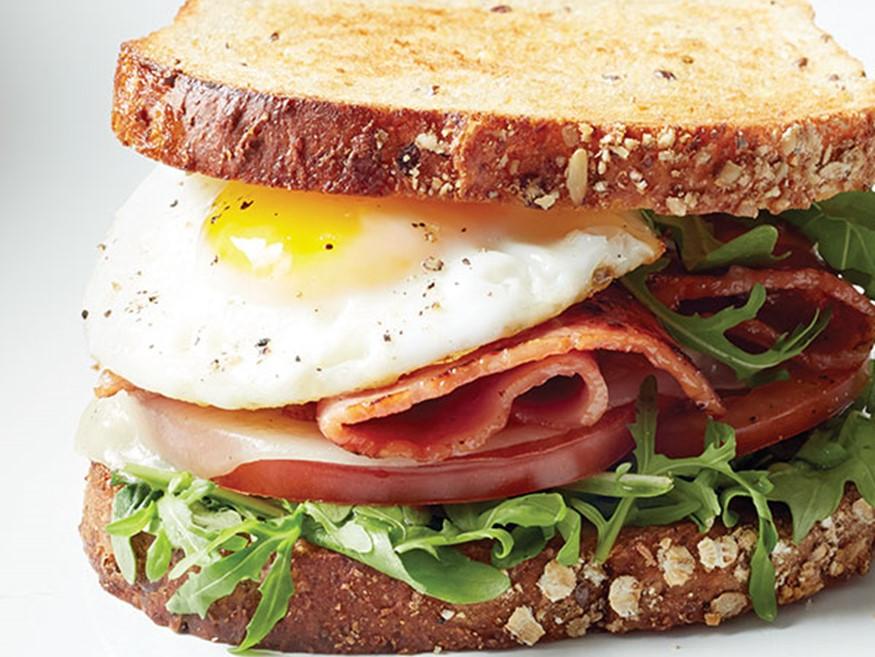 Turkey Bacon Egg Sandwich Hy Vee