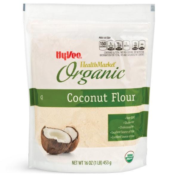 Hy-Vee HealthMarket Organic Coconut Flour Package