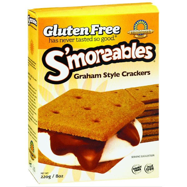 Gluten-Free S'Moreables Graham Style Crackers Package