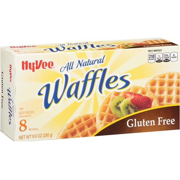 Hy-Vee All Natural Gluten-Free Waffles