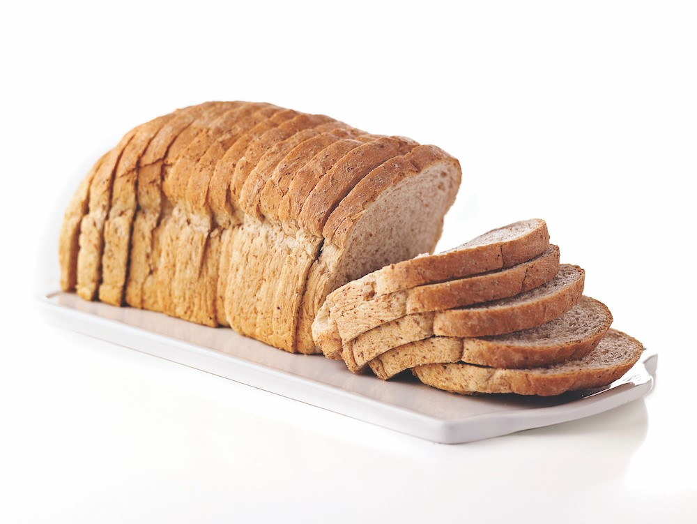 Sliced Wheat Bread Loaf