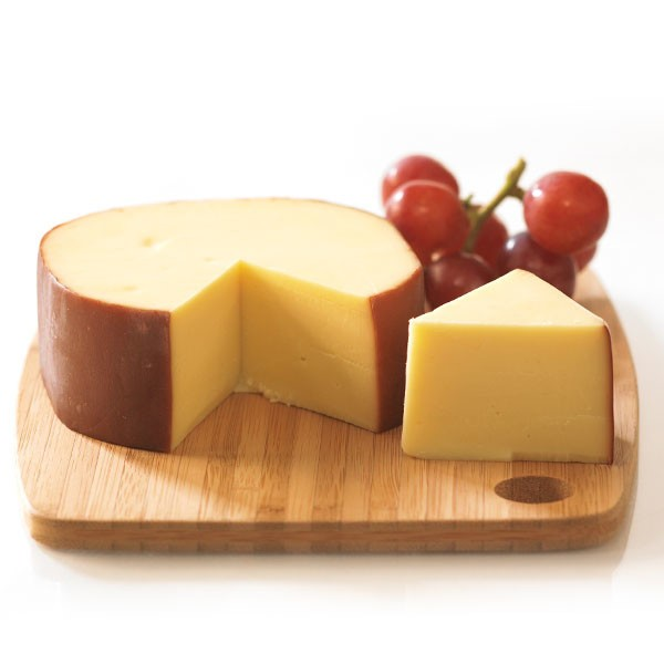 Gouda with Red Grapes