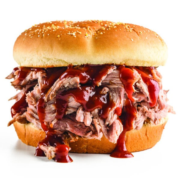 Pulled Pork Sandwich with Barbecue Sauce