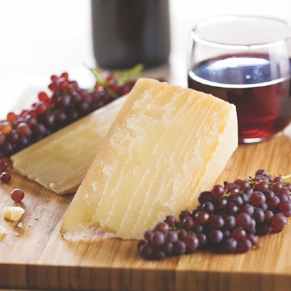 Cheese, Grape, and Wine Platter