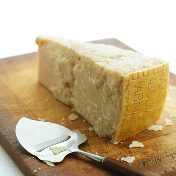 Parmesan Cheese with Cheese Slicer