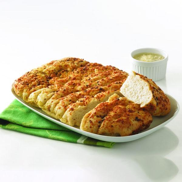 Focaccia Bread on Plate