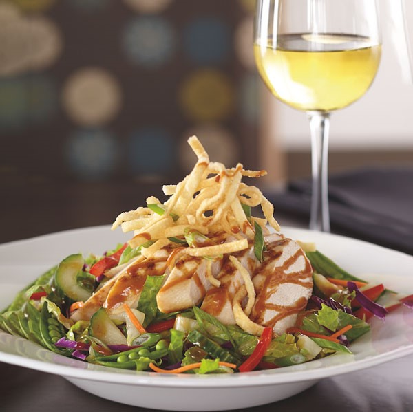 Chicken Salad with Wine