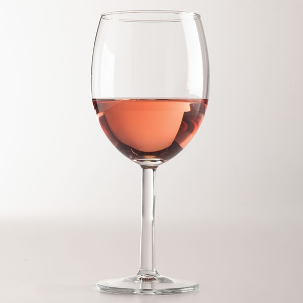 Rose in a Wine Glass