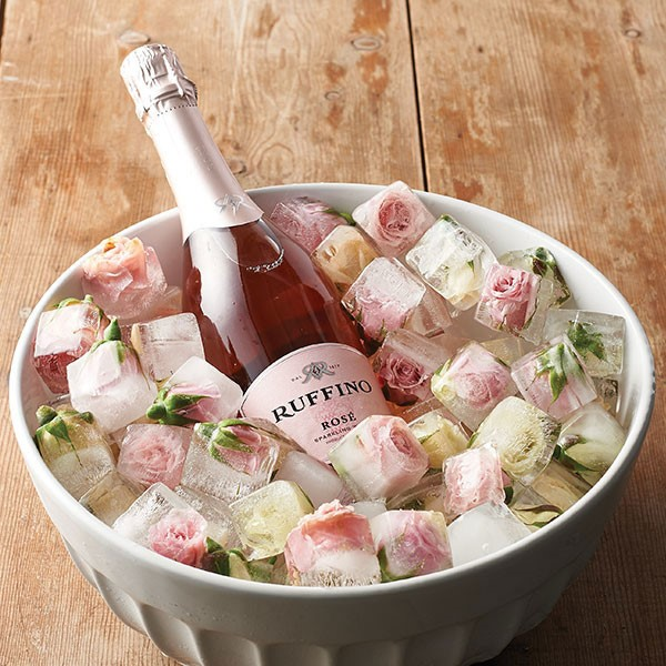 Ruffino Wine in Rose Ice