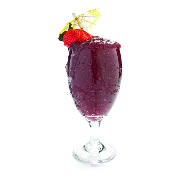 Wine Slushy with Umbrella