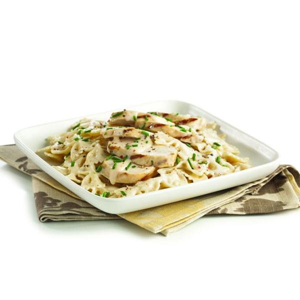 Chicken Alfredo with Bowtie Pasta