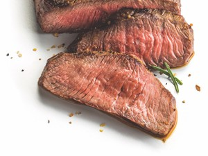 sliced beef sirloin