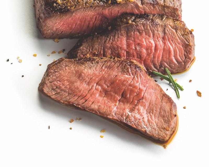 sliced beef sirloin