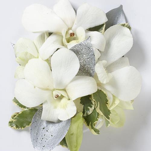 Elegant Orchid Wrist Corsage