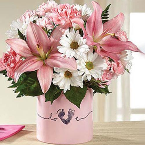 FTD Tiny Miracle Bouquet- Girl