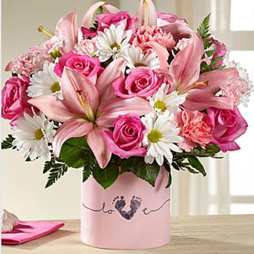 Ftd Tiny Miracle Bouquet Girl Hy Vee Aisles Online