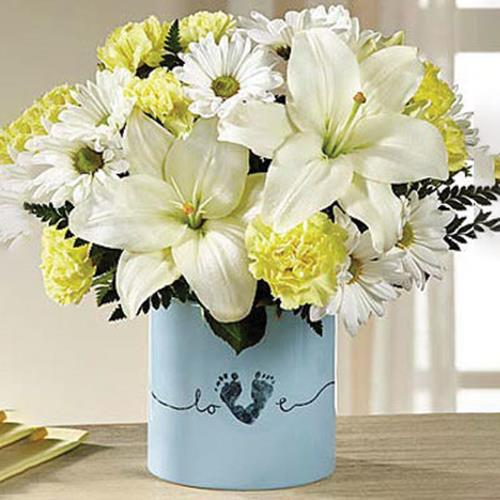 FTD Tiny Miracle Bouquet- Boy