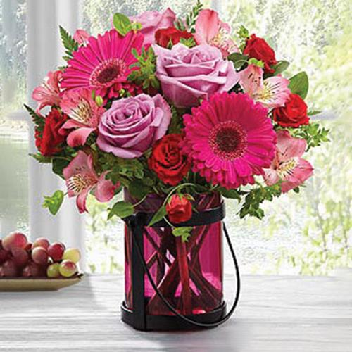 The FTD Pink Exuberance Bouquet by Better Homes & Gardens